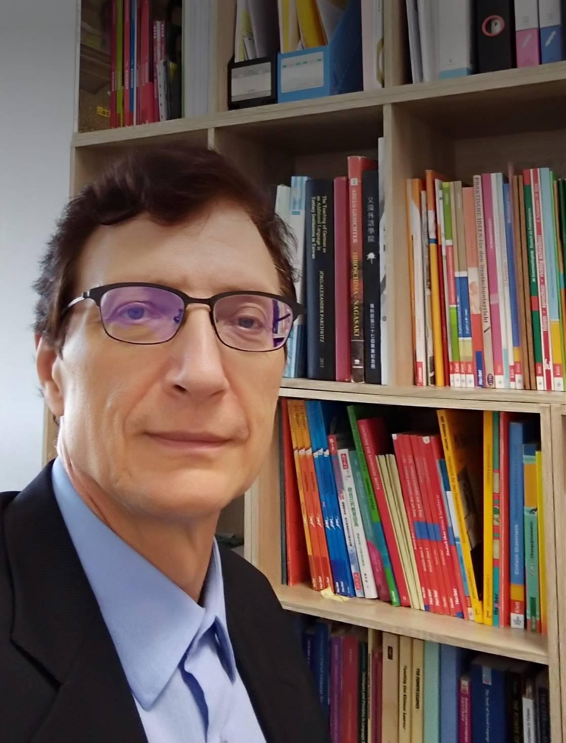 教師 「白秋石 (Jörg Parchwitz)」老師照片
